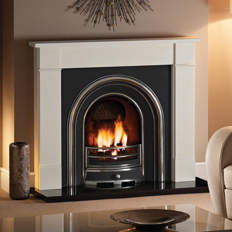 Carrara Marble Fireplaces